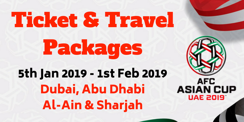 AFC Asian Cup Travel and Tour Packages