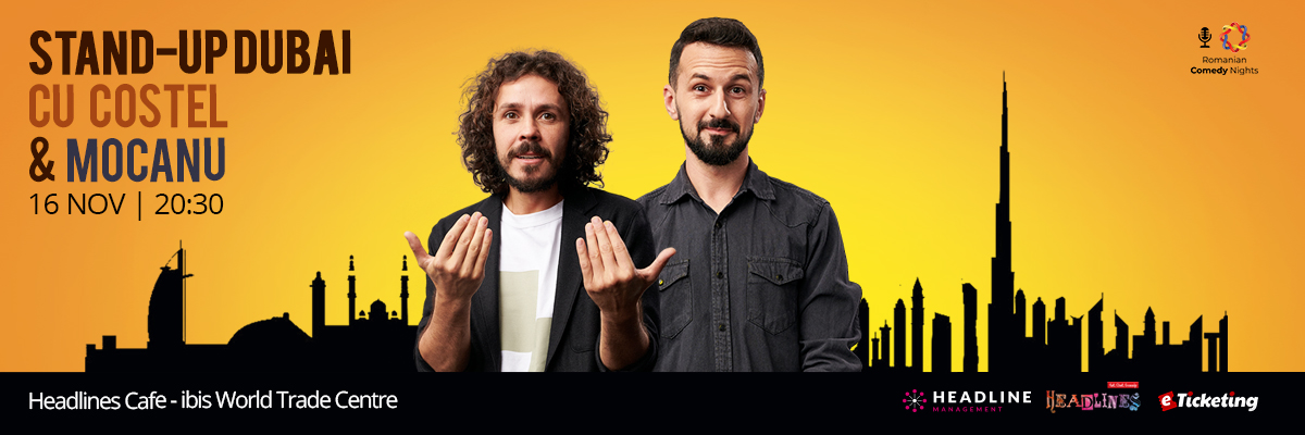 Stand Up Dubai Tickets Romanian Comedy Nights