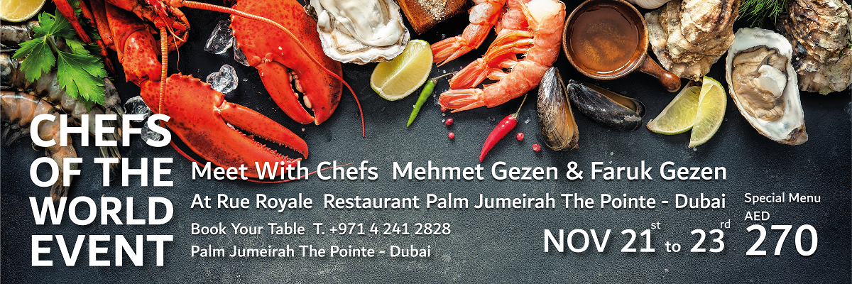 CHEFS OF THE WORLD Tickets Olama Group