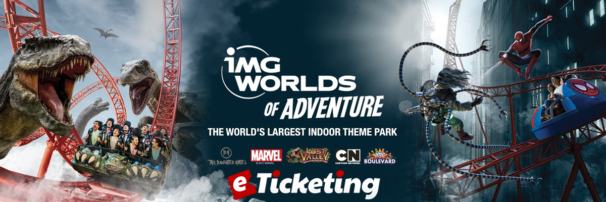 IMG Worlds of Adventure Tickets IMG Worlds of Adventure