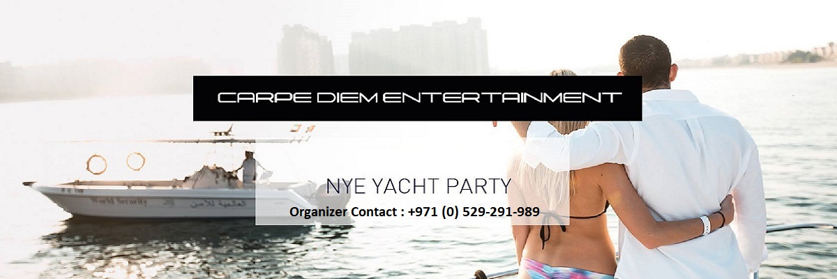 NYE YACHT PARTY Tickets Carpe Diem Entertainment