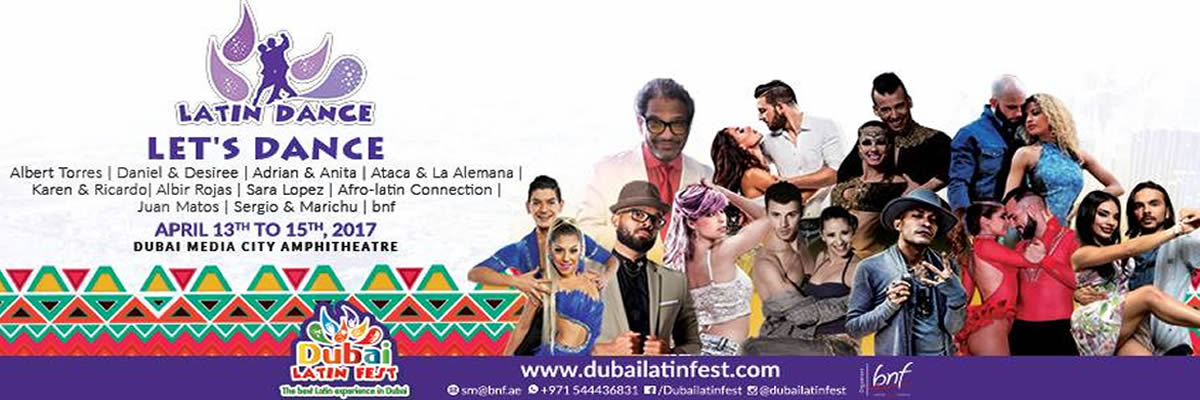 Dubai Latin Fest Tickets bnf