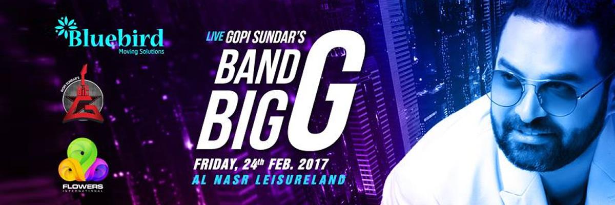 Band Big G Tickets GDLiveDubai