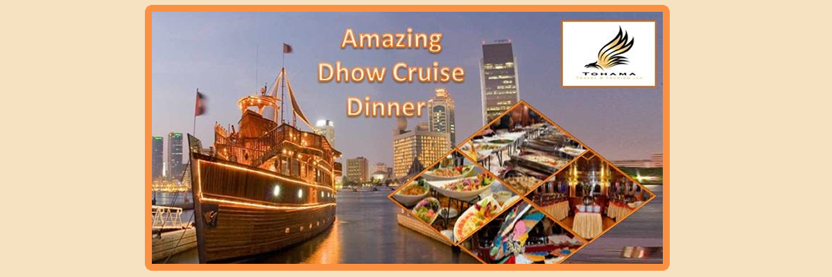Creek Dhow Cruise Tickets Tohama Travel