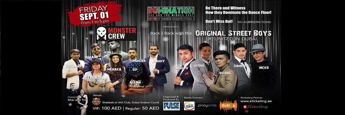 Monster Crew Back To Back Tickets Pulse International Businessmen Services