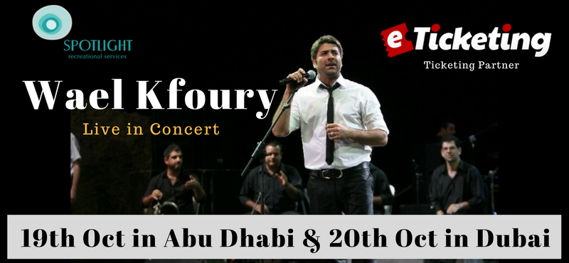 World All Great Kfoury Live in Concert Tickets Spotlight