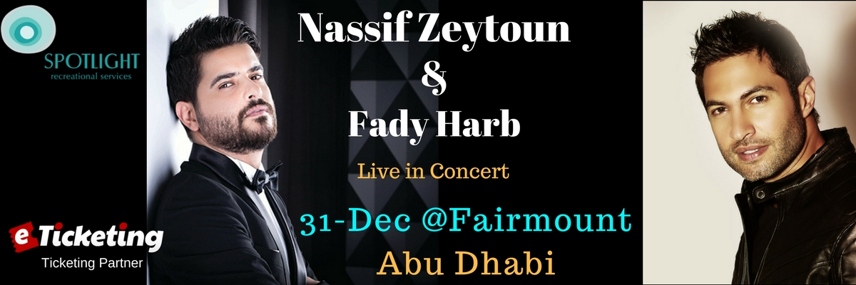 Nassif Zeytoun Live Tickets Spotlight Recreational Services