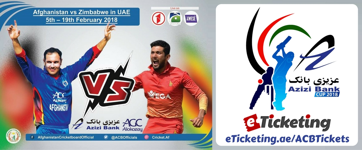 Afghanistan Cricket Tickets Afghanistan Cricket Board (ACB)