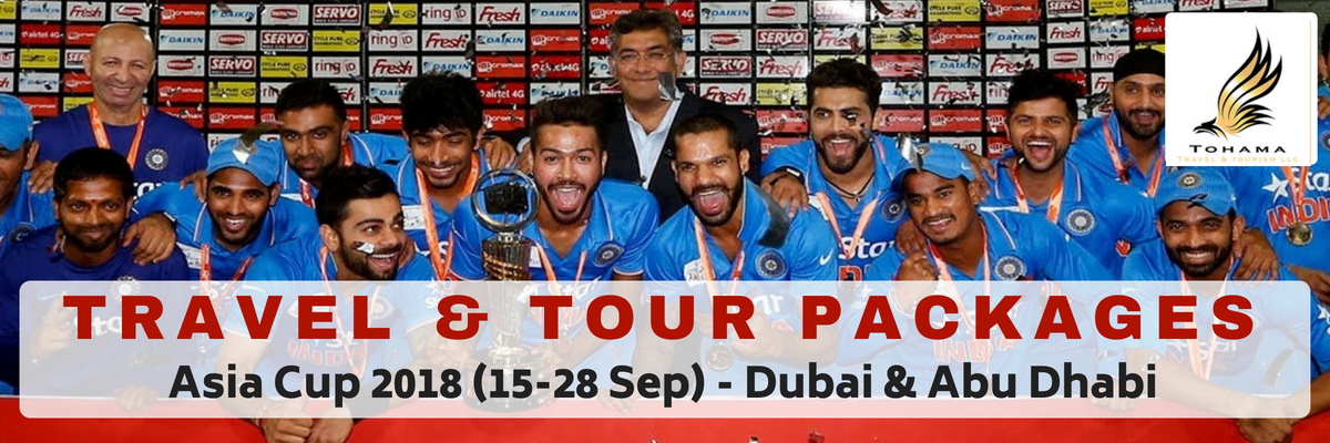 Asia Cup Travel and Tour Packages Tickets