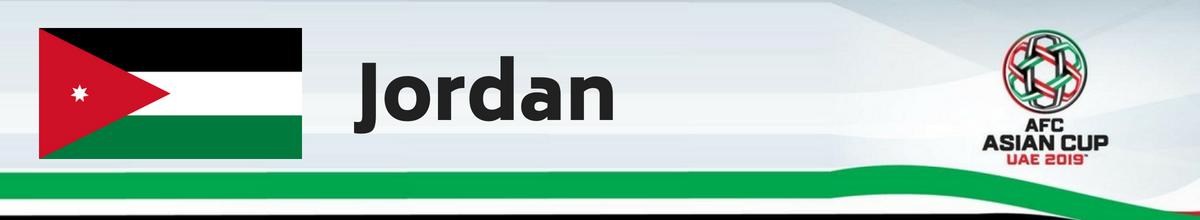 Jordan AFC Asian Cup Tickets