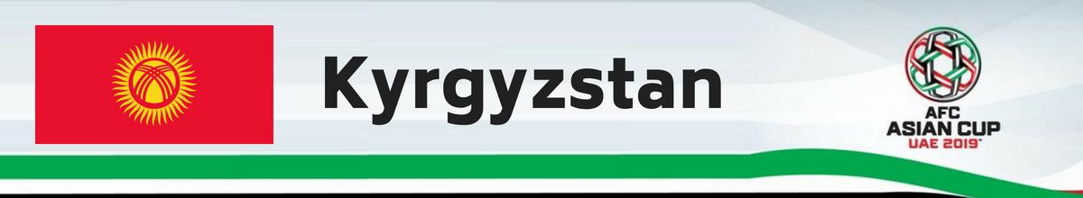 Kyrgyzstan AFC Asian Cup Tickets