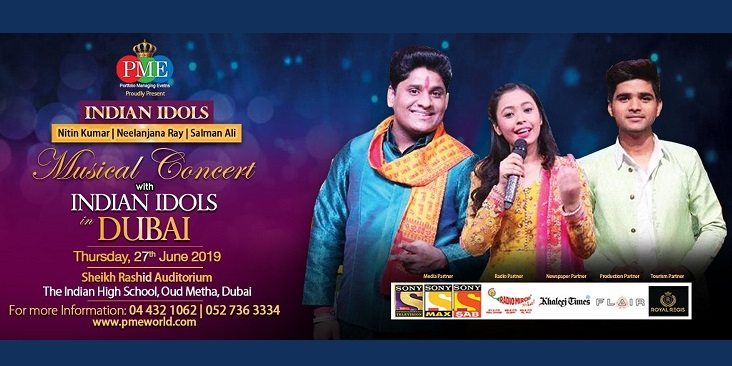 Indian Idols Musical Concert Tickets