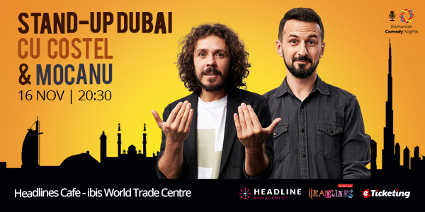 Stand Up Dubai Tickets
