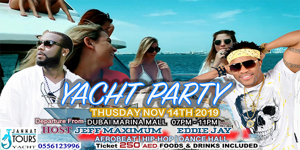 DXB Yacht Party Tickets