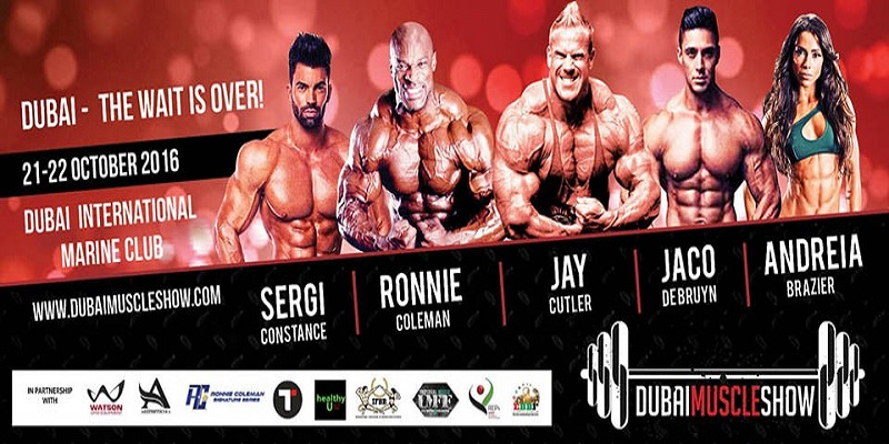 Dubai Muscle Show Tickets