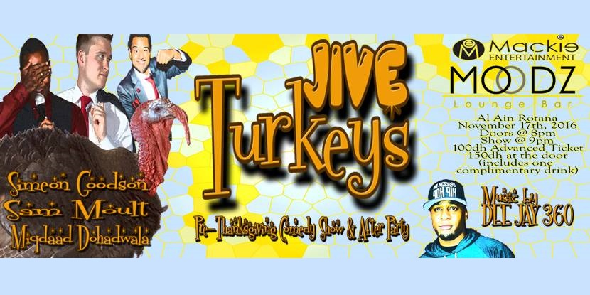 JIVE Turkeys Tickets