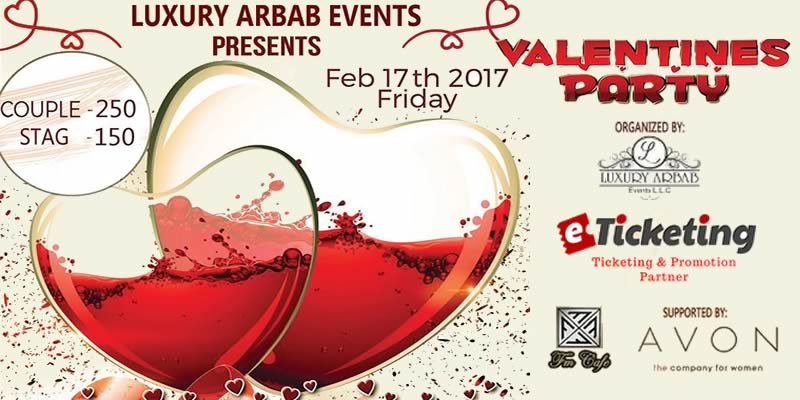 Valentines Party Tickets