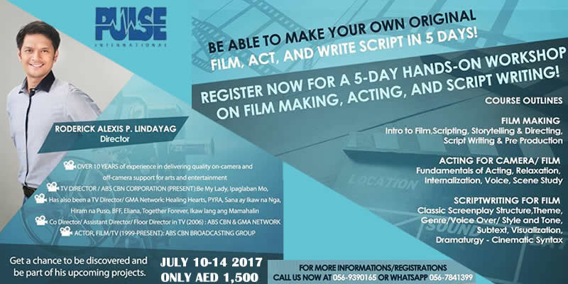Filmact Workshop Tickets