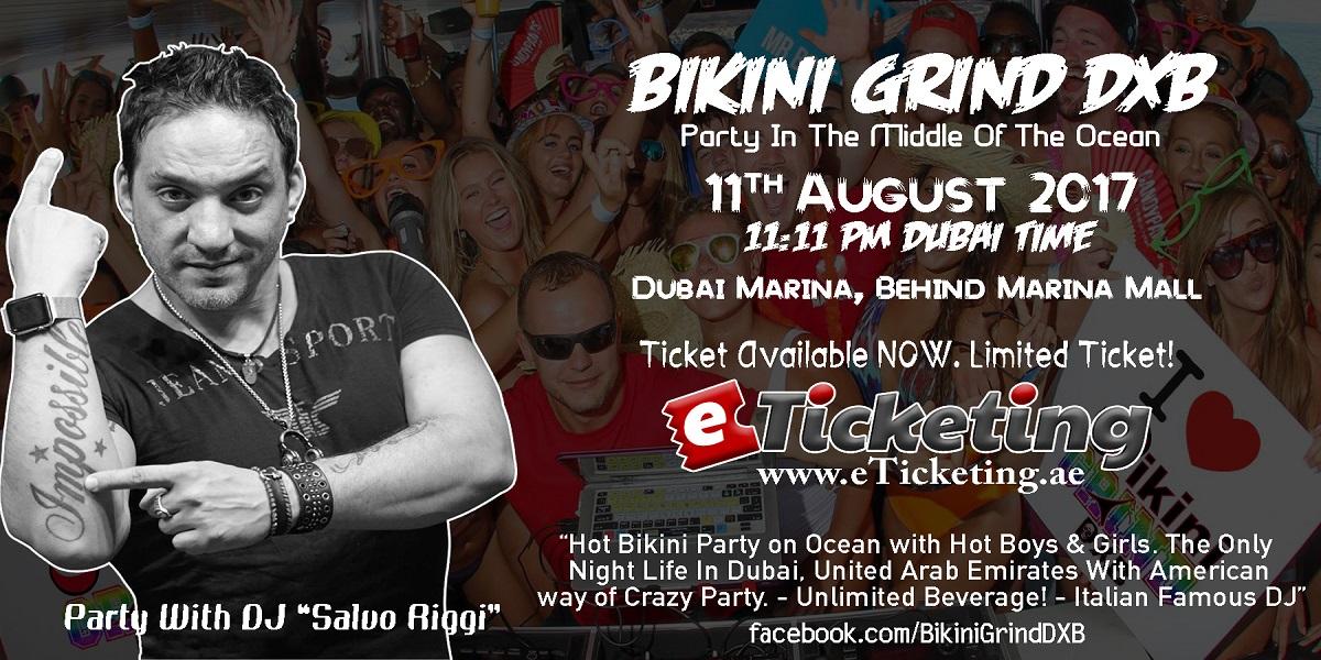 Bikini Grind DXB Tickets