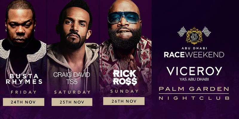 Abu Dhabi Race Weekend Tickets