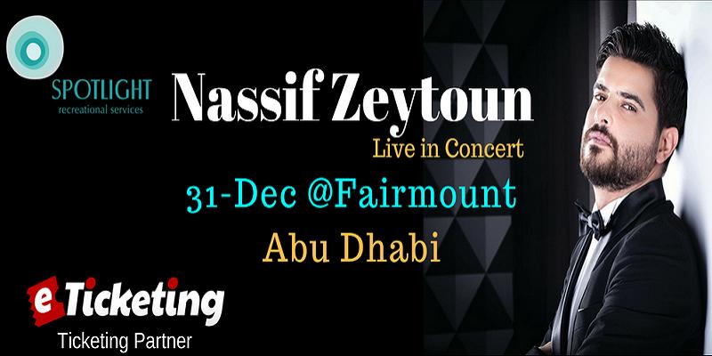 Nassif Zeytoun Live Tickets