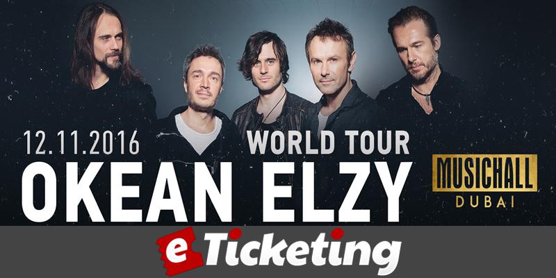 Okean Elzy Tickets