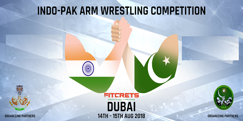 Ind O Pak Arm Wrestling Tickets