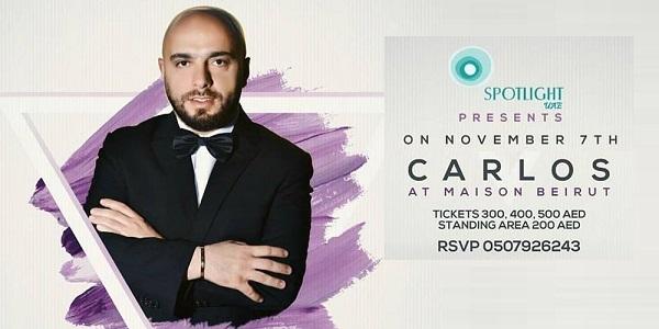 Carlos Tickets