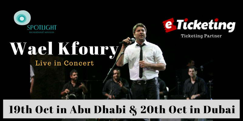 Wael Kfoury And Mouhamad Khairy Live In Concert Tickets