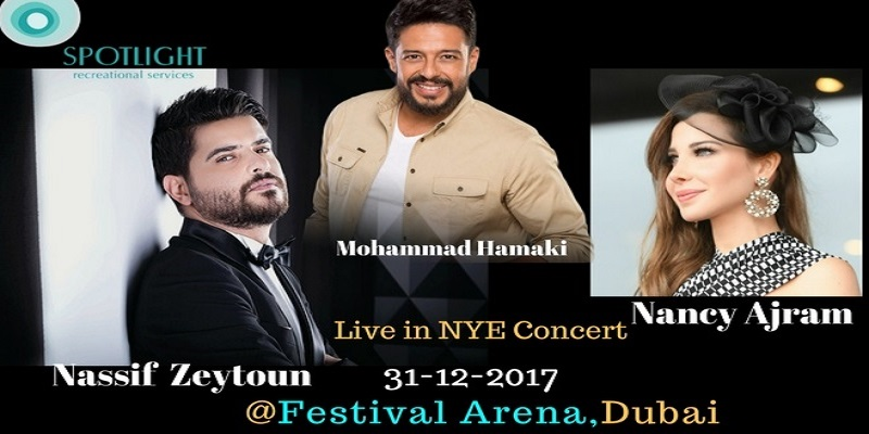SpotLight Presents NYE Live Concert In Dubai Tickets