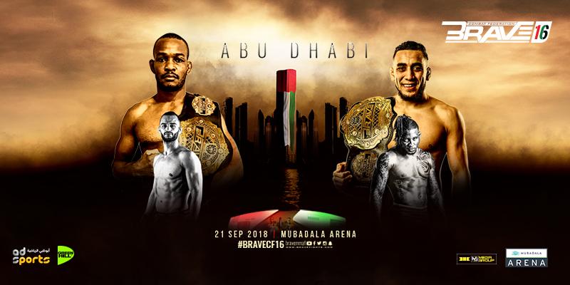 Brave 16 In Abu Dhabi  Tickets