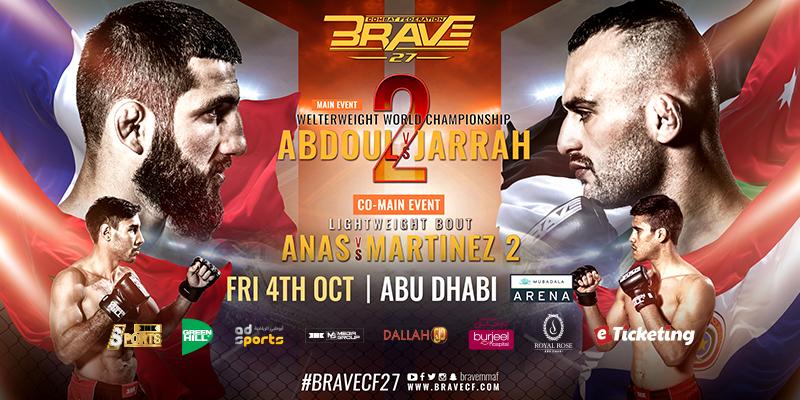 BRAVE 27 In Abu Dhabi Tickets