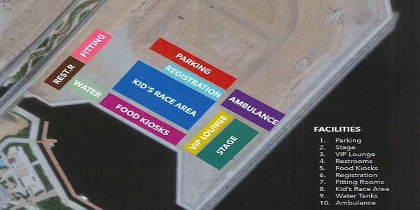 Al Zorah seating plan