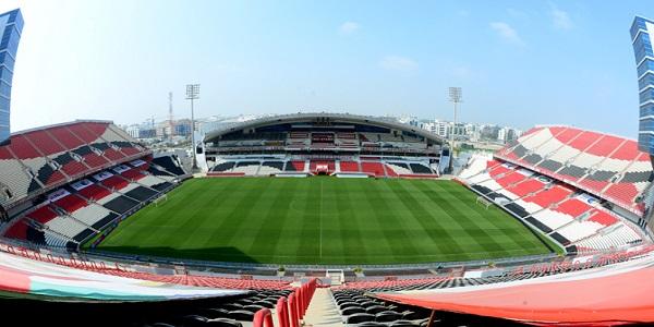 Al Jazira Stadium seating plan