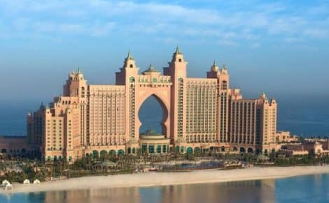 Atlantis, The Palm seating plan